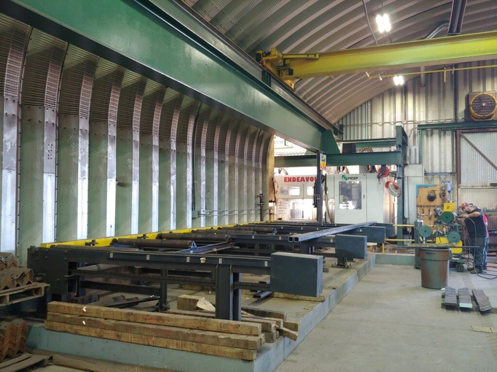 Used Equipment - Structural Steel Machinery