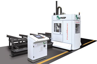 CNC Single Spindle Drill